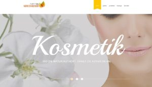 Website nadine-kosmetik.de